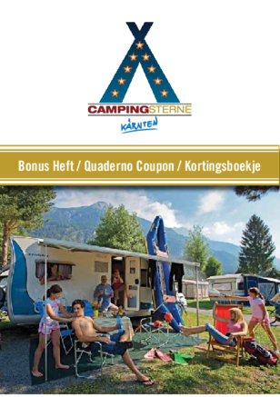Campingsterne Quaderno coupon
