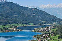 Webcam from Lake Weissensee in Carinthia